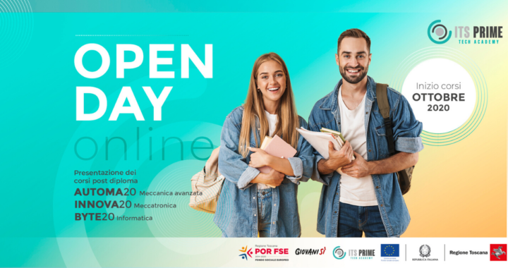 Open day ITS Prime: Registrazioni